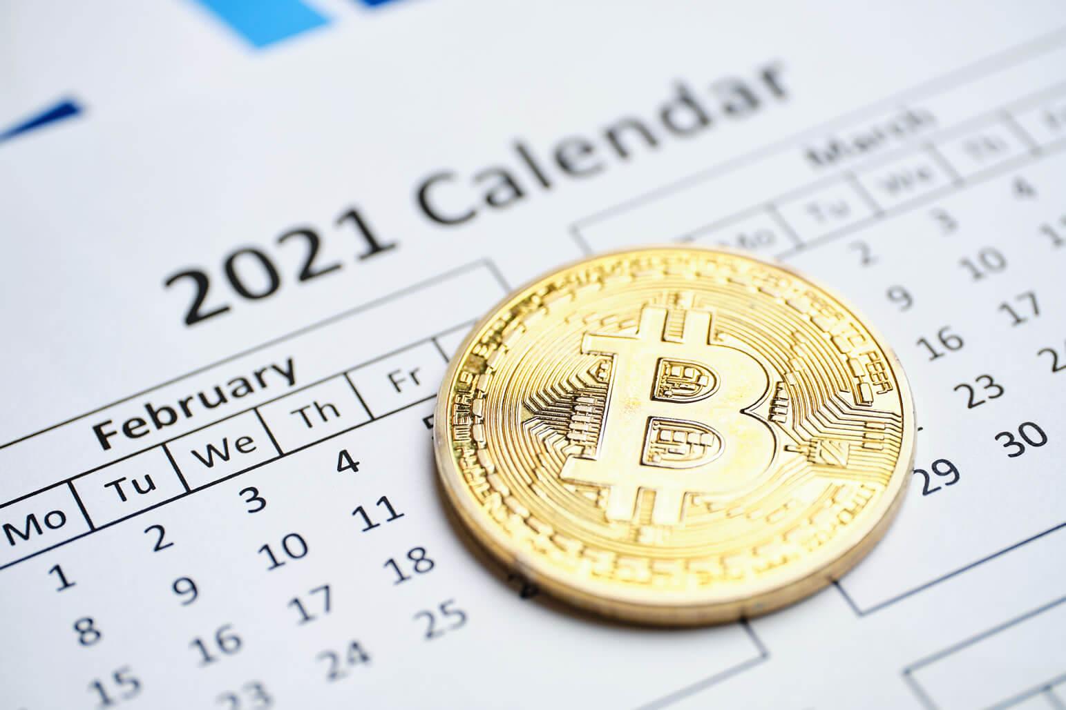 ビットコインの2021年からの動向